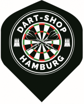 Dart-Shop Hamburg Flights - Standard - Schwarz